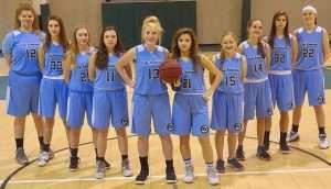 Coastal Homeschool Athletic Association Girls Basketball