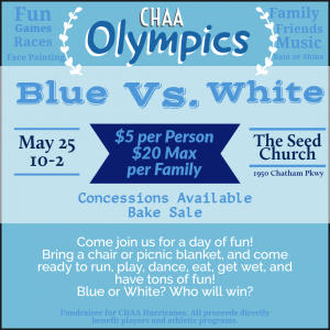 CHAA Olympics Flyer