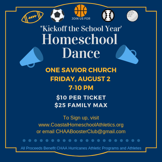 Kickoff the School Year Homeschool Dance
