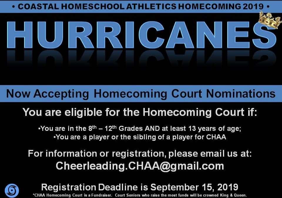 Hurricane Homecoming Court Nominations